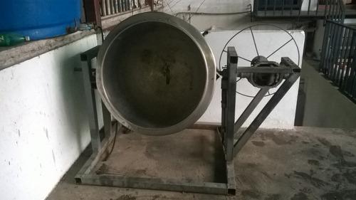marmita 300l marca alfa laval y motor 3hp siemens nuevo