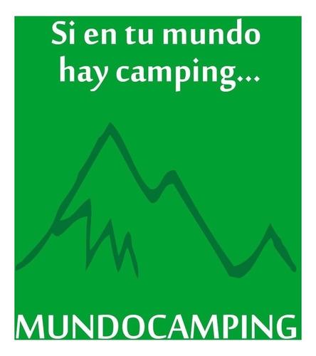 marmita camping 2 personas brogas aluminio 12 piezas c/funda
