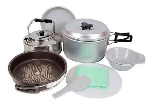 marmita doite set de cocina 2 personas antiadherente el jabali