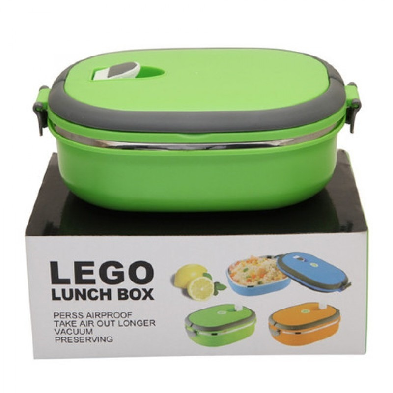 marmita fitness de a o inox emborrachada lunch box 900ml. Black Bedroom Furniture Sets. Home Design Ideas