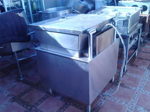 marmita o caso cuadrado a gas de 30 gal market forge buenisi