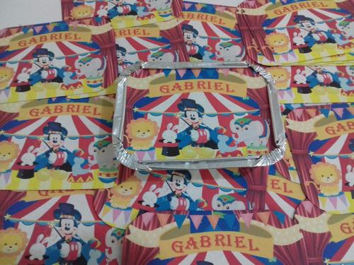 marmita personalizada aniversario 100unidades 250 gramas mx1