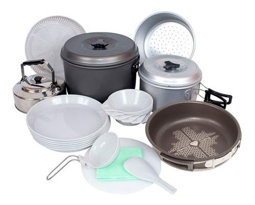 marmita set de cocina para camping de doite para 6 personas°