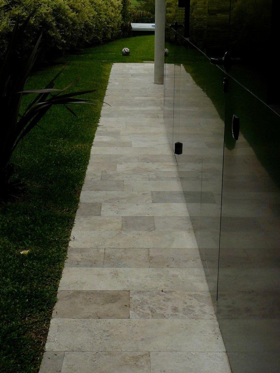 Marmol fiorito beige al corte laminado 60cm en for Pisos de marmol para exterior