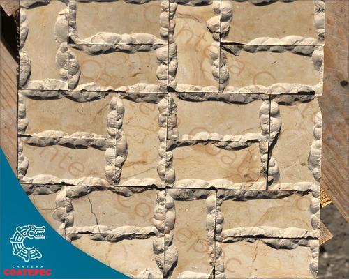 mármol-piedra de cantera en malla