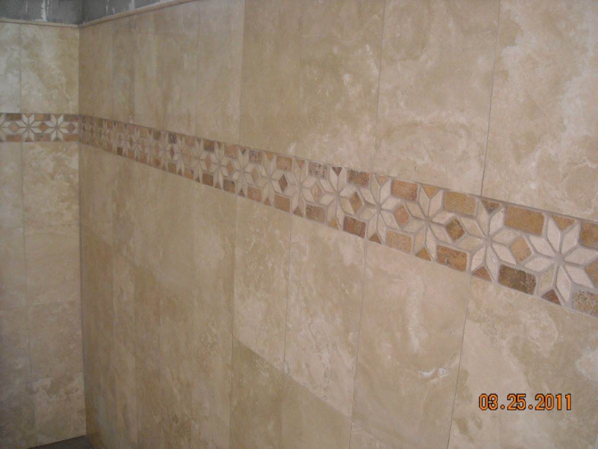 Marmol travertino 30x30 fiorito pulido mate 225 00 for Marmol travertino claro