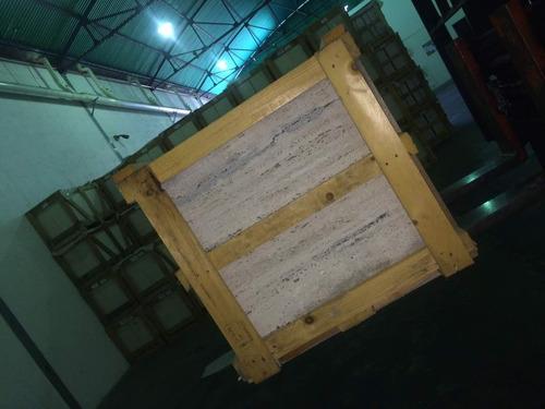 mármol travertino romano pisos - laminas  baldosas