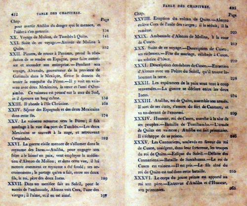 marmontel les incas en frances 1808 peru no envio