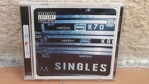 maroon 5 - singles (nuevo)