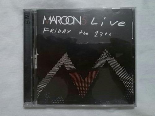 maroon5 live friday the 13th dvd concierto y cd musica