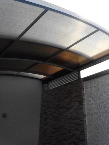 marquesinas,techos corredizos en policarbonato, divisiones