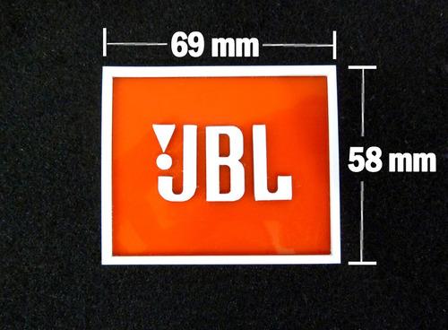 marquilla logotipo cabina jbl precio x 2
