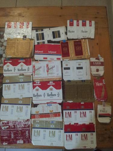 marquillas de cigarrillos decada 70 son 149 importadas