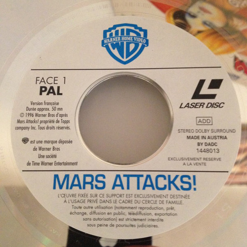 mars attacks, lasser disc, tim burton