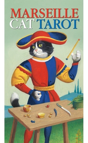 marseille cat tarot, tarot de marsella con gatos