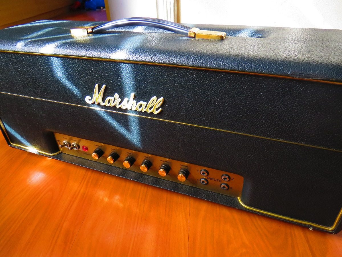 Marshall 1959 Slp Super Lead Plexi 100w Mk2 .. Mkii 1987