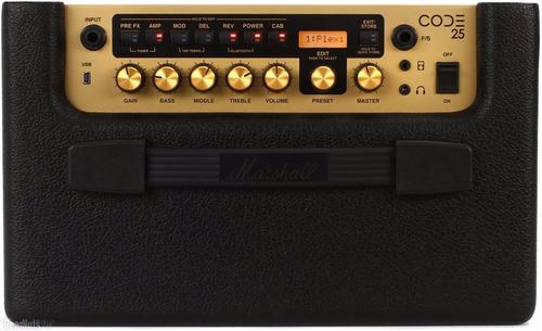 marshall amplificador guitarra