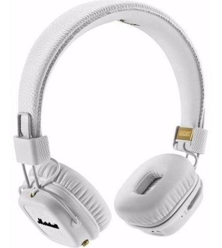 marshall audífonos major ii on ear blanco / garantía 1 año