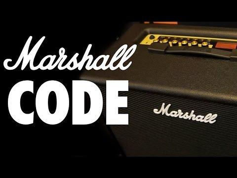 marshall code 50 amplificador combo guitarra code50 bivolt