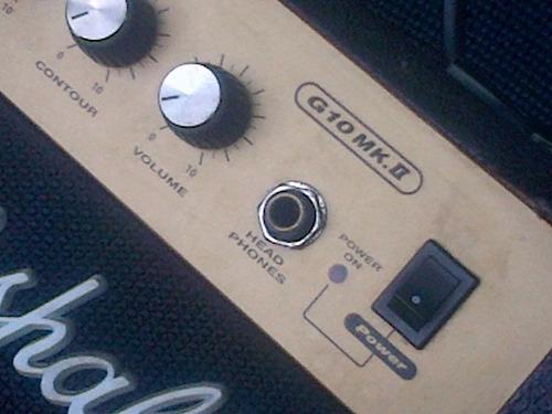 marshall g10 mk.ii amp guitar