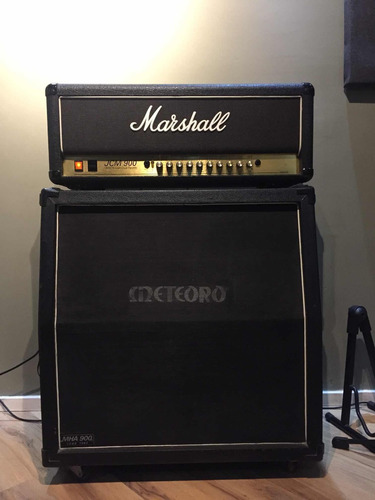 marshall jcm900 + caixa n orange, fender, bogner, line 6