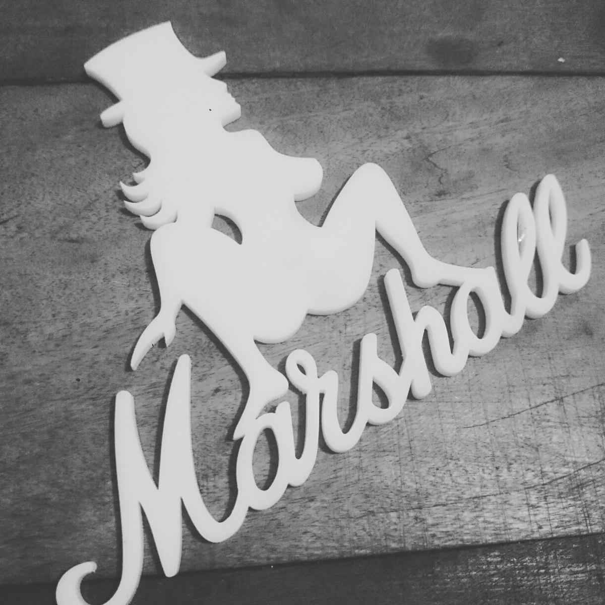 Marshall Logo Slash Arthur Torok - R  70 344cb453410ff