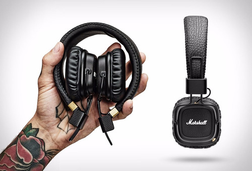 marshall major ii auricular micrófono control new 2017