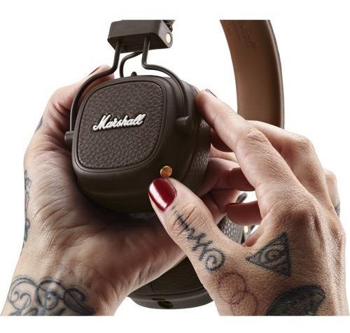 marshall major iii audífonos bluetooth on ear cafe 30 horas