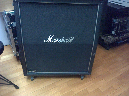 marshall mf280a mode four angled guitar cabinet vintage 30