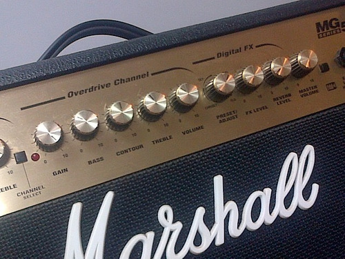 marshall mg series mg50dfx 50w 1x12 guitar combo amp