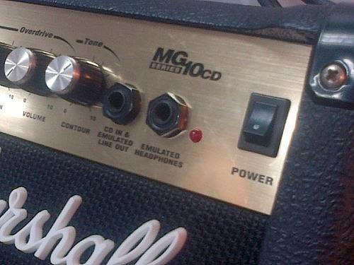 marshall mg10cd combo amp