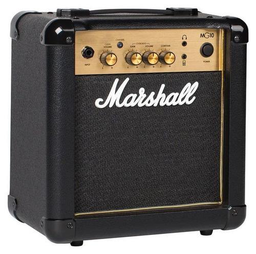 marshall mg10g amplificador combo para guitarra gold de 10w