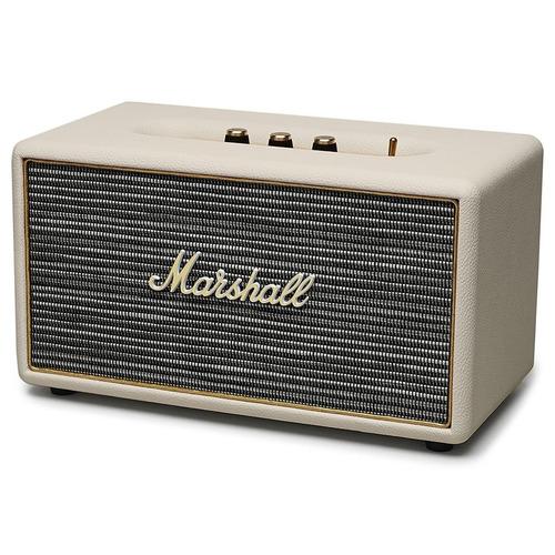 marshall parlante stanmore bluetooth altavoz color crema