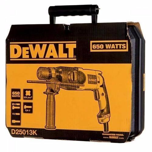 martelete perfurador rompedor 650w  dewalt d25013k 220 v