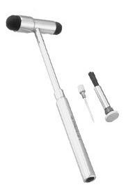 martelo buck p/ reflexos c/ pincel e agulha profissional