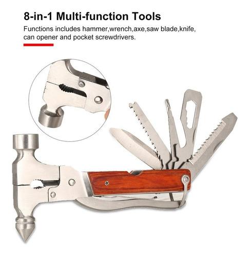 martelo ferramenta bolso chave de fenda garra sobrevivência