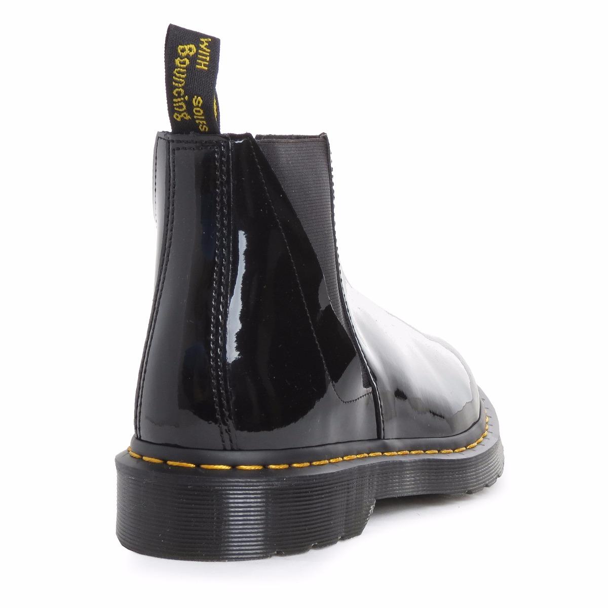539d0ee4af227 Cargando zoom... zapatos bota media dr martens bianca charol mujer  importados