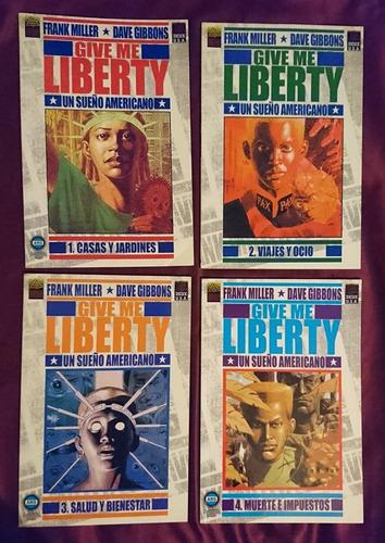 martha washington y give me liberty (7 tomos)