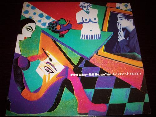 martika martika's kitchen vinyl lp 1991 cbs made in spain