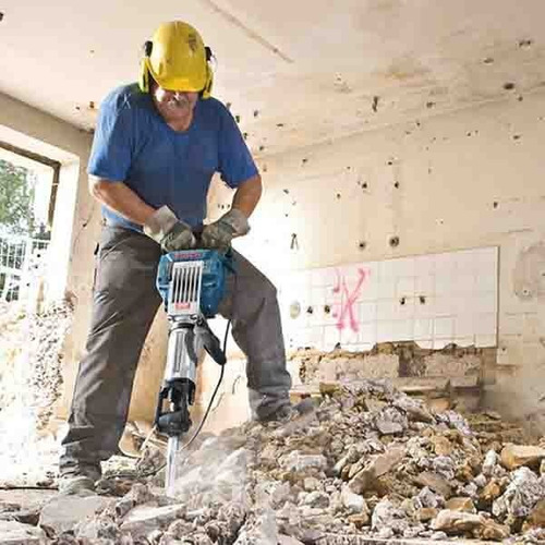martillo bosch gsh-27 vc 30kg rompe pavimento 2000w 1130a