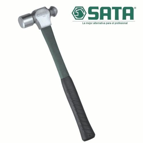 martillo cabeza bola - mango fibravidrio 454gr - 16oz - sata