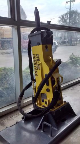 martillo de 150 kg picador demoledor para minicargador