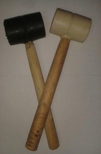 martillo de goma negro