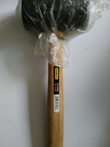martillo de goma stanley 20 oz