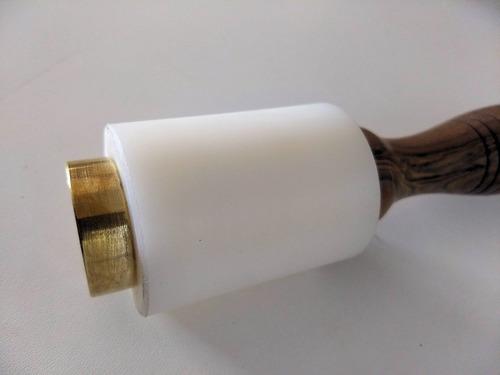 martillo de grillon para repujado en cuero