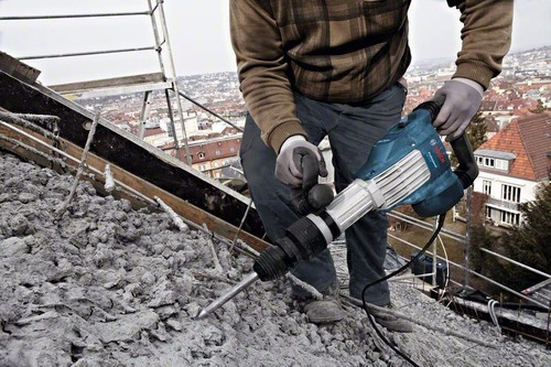 martillo demoledor 1700w 10kg gsh11vc bosch