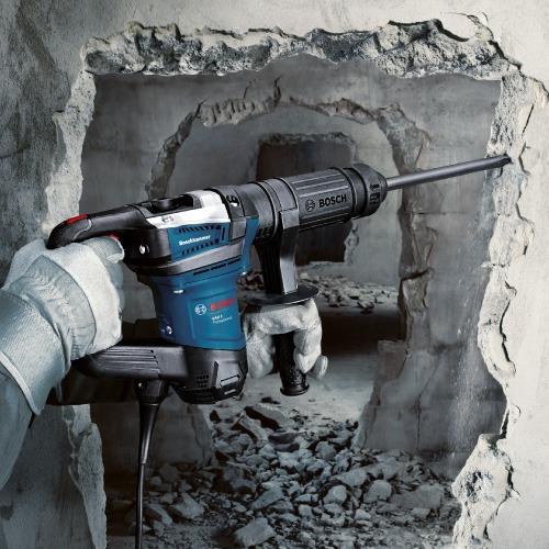 martillo demoledor bosch sds max gsh 5 1100w - 7,5j 5,6kg