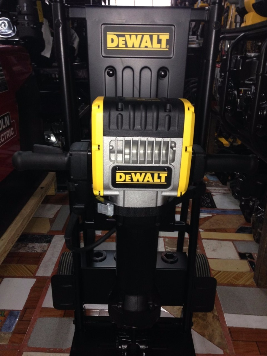 Martillo demoledor electrico 30kg marca dewalt mod d255980 - Martillo cincelador electrico ...