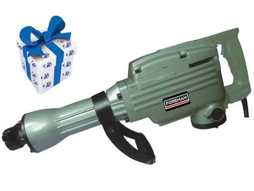 martillo demoledor foreman 1500w 65mm 13574/fo + regalo !