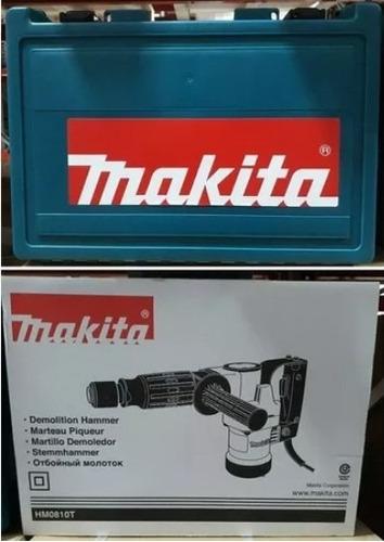 martillo demoledor makita hm0810t 8,5joules 900w maletin